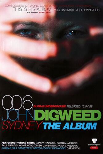 John Digweed poster - Global Underground 006