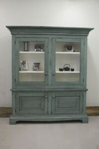 Reclaimed Wood Buffet With Hutch. Choice of Colours - By LIKEN Woodworks