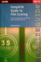 COMPLETE GUIDE TO FILM SCORING (livre)