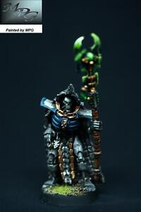 4NC03 Warhammer40K MPG Painted Necron Trazyn the Infinite