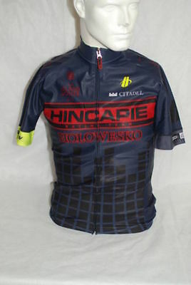 Hincapie Pro Cycling Team Element Rain SS Jersey Mens Small NEW 77a3511c6