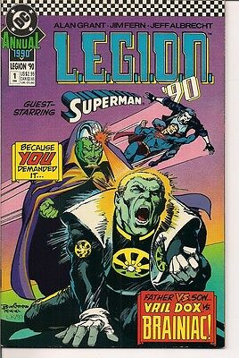L.E.G.I.O.N. 90 Annual #1 by DC Comics