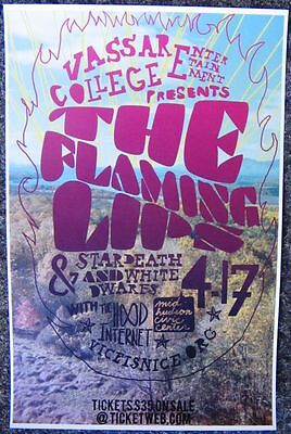 FLAMING LIPS 2010 Gig POSTER Poughkeepsie NY Concert