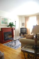 LACHINE WATERFRONT FURNISHED 4 1/2*FIREPLACE*INTERNET*HEAT & A/C
