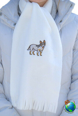 Australian Cattle Dog Scarf Cream -