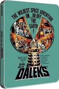 Dr Who and the Daleks -  Steelbook Blu-ray SEALED Peter Cushing is Doctor Who