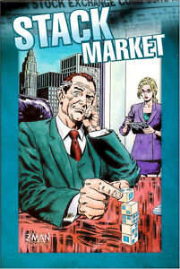 Stack Market - Brand New Board Game - Stock, Free US Shipping!