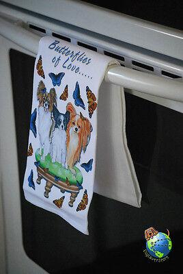 Papillon Kitchen Hand Towel