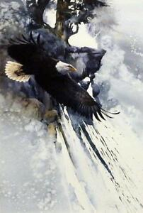 Morten Solberg To Touch the Sky S/N Eagle Art Print
