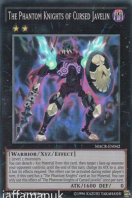 The Phantom Knights of Cursed Javelin - MACR-EN042 - Super Rare 1st Edition