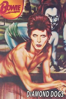 ~~ DAVID BOWIE ~ DIAMOND DOGS POSTER ~~