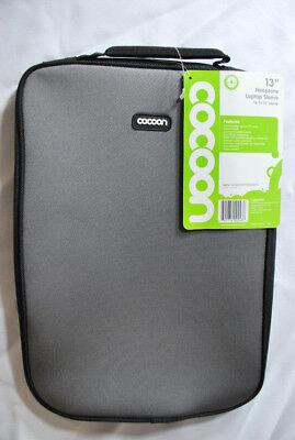 NoLita CLS357GY Laptop Notebook Neoprene Sleeve for Up to 13 inch Notebook, Gray Gray Neoprene Laptop Sleeve
