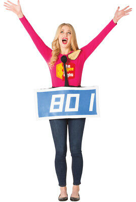 Rasta Imposta The Price is Right Row Blue Contestant Halloween Costume GC3835B