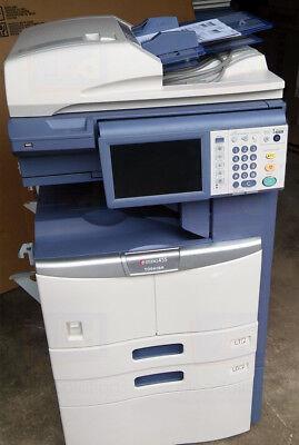 Toshiba E-studio 455 Ledger Monochrome Laser Copier Printer Scanner 45ppm 355
