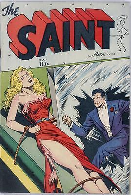 The Saint #1 Photocopy Comic Book, Simon Templar (No Inside Covers)