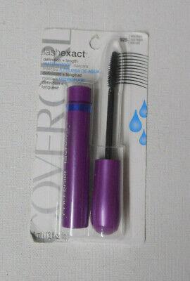 1 mascara COVERGIRL LASH EXACT MASCARA waterproof 925 VERY BLACK sealed NIP  Cover Girl Lash Exact
