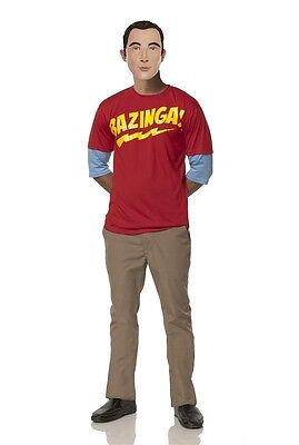 The Big Bang Theory Sheldon's Bazinga Adult Men Costume