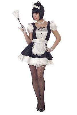 Fiona French Maid Lace Sexy Halloween Outfit Cosplay California Costume Medium - Fiona Halloween