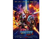 Guardians of the Galaxy Vol. 2 Blu-ray Disc (like new, in case)