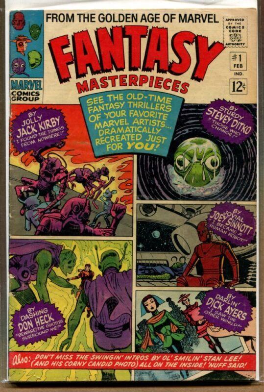 Fantasy Masterpieces #1 B -
