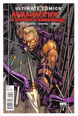 Ultimate Comics Hawkeye #1 1:25  ADAMS VARIANT