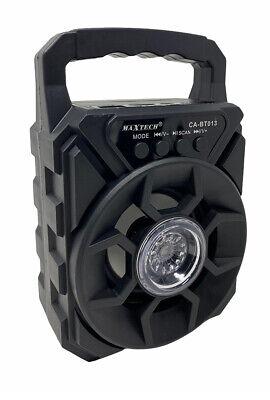 Cassa bluetooth 30 watt radio fm slot tf usb sd aux con luci rgb ricaricabile