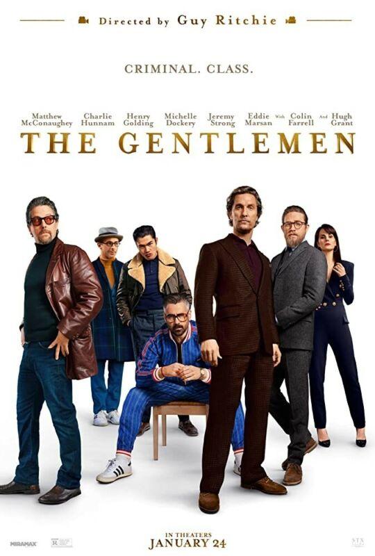 The Gentlemen HDX VUDU INSTAWATCH no physical disk