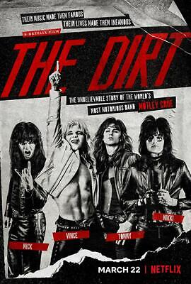 The DIrt Motley Crue DVD Brand New Great Price Still Sealed