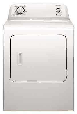 Amana NED4655EW 6.5 cu. ft. Front Load White Electric Clothes Dryer 11 Cycles