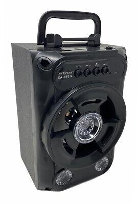 Cassa bluetooth 30 watt radio fm slot tf usb mini sd aux luci rgb ricaricabile