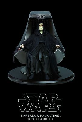 Star Wars Elite Collection Emperor Palpatine Figur Statue Attakus