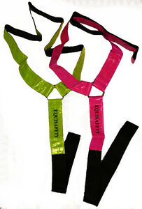 Neckband-Neckstrap-Martingale-Strap-Yellow-Fluorescent-Horse-Safety-Wear