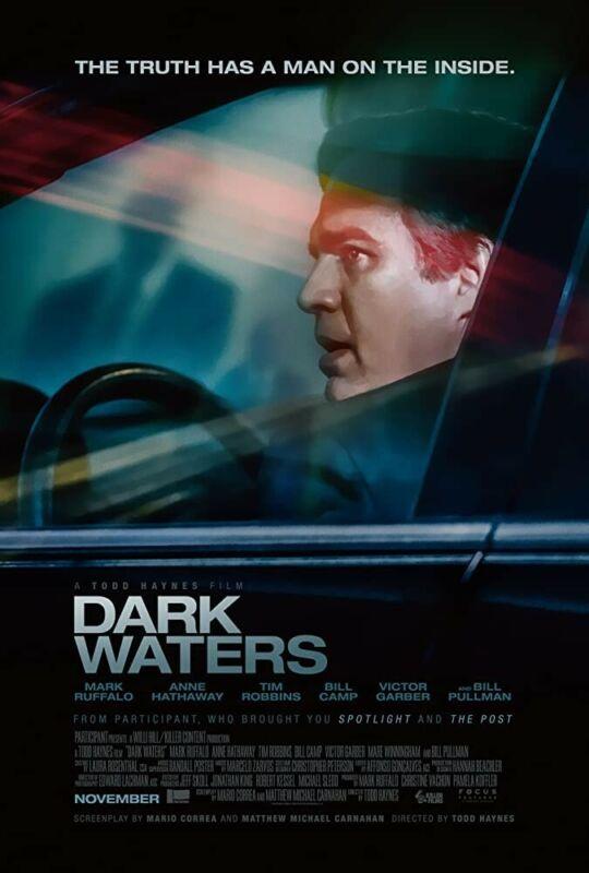 Dark Waters HDX VUDU INSTAWATCH no physical disk