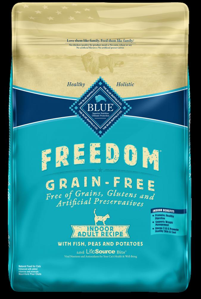 Blue Buffalo Freedom Fish Grain Free Indoor Dry Cat Food