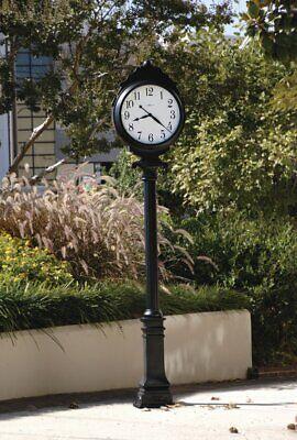 HOWARD MILLER 615056 Town Square Indoor Outdoor Lamppost Grandfather Floor Clock Outdoor Floor Clock