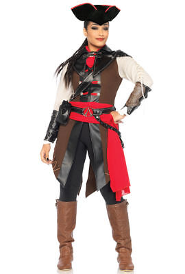 NEW Aveline Assasins Creed Deluxe Costume By Leg Avenue size S