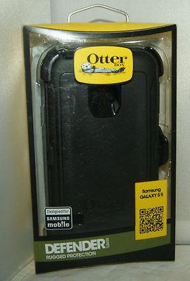 Otterbox Defender Samsung Galaxy S5 Hard Shell Case w/Holster Belt Clip - Black