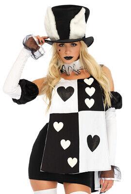 Leg Avenue white rabbit wonderland dress - Wonderland Rabbit Kostüm