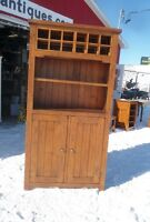 Reclaimed wood wine cupboard-TV stand