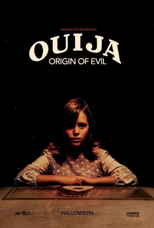 OUIJA ORIGIN OF EVIL 27x40 ORIGINAL D/S MOVIE POSTER