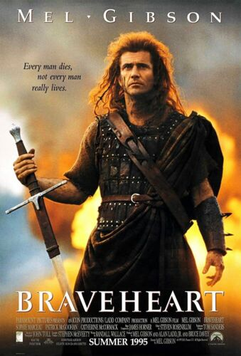 """35mm Feature Film """"BRAVEHEART""""  1995   LAST ONE!"""