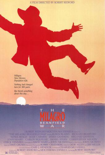 THE MILAGRO BEANFIELD WAR (1988) ORIGINAL MOVIE POSTER - ROLLED - JOHN ALVIN ART