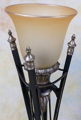 Tischlampe Lampe Tischleuchte Fluter Schmiedeeisen italienischer Look PQ016-b