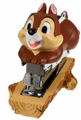 Disney Chip Dale Mascot Stapler Stationery Desk Office Japan Gift Z7990