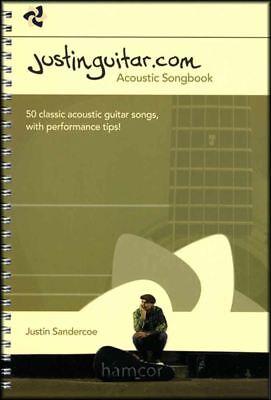 Justinguitar.com Acoustic Songbook 50 Classic Songs Justin Sandercoe Chords TAB