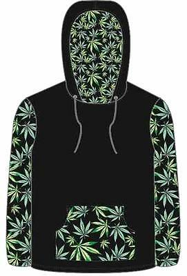 POT LEAF marijuana HOODIE SWEAT SHIRT ADULT SIZE MED men womens leave sweatshirt Womens Hoodie Sweat