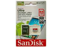 64gb micro SD memory card