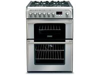 //(%)\ CANNON DUAL FUEL STAINLESS STEEL COOKER INCLUDES 6 MONTHS GUARANTEE