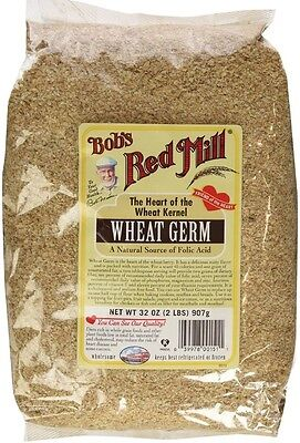 Bob's Red Mill Wheat Germ 32 oz (Pack of 2) Bobs Red Mill Natural