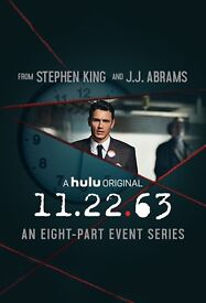 DVD Box Set - 11.22.63. Stephen King, JFK, JJ Abrams, excellent, 5* on Amazon